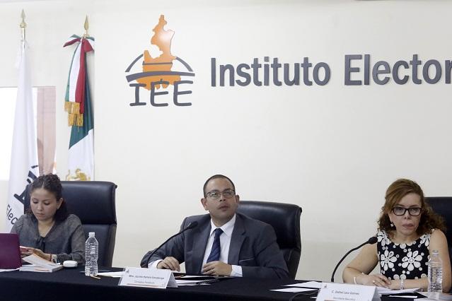 Consejero califica trabajo del IEE como puntual y adecuado