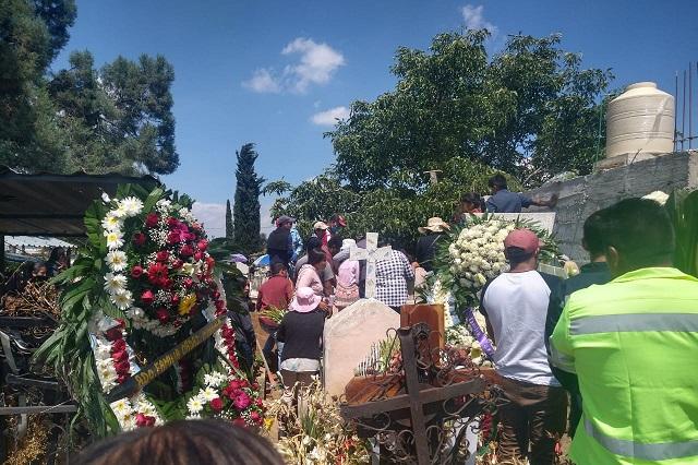 Sepultan en Tlahuapan a gruyero atropellado en la México- Puebla