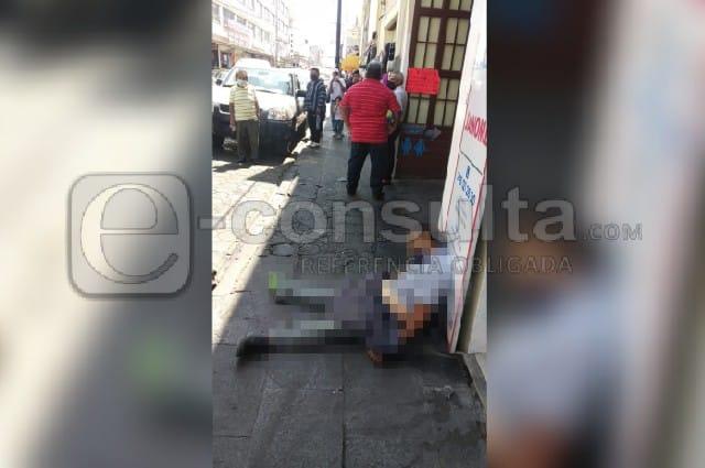 Muere indigente en calles del Centro Histórico de Puebla