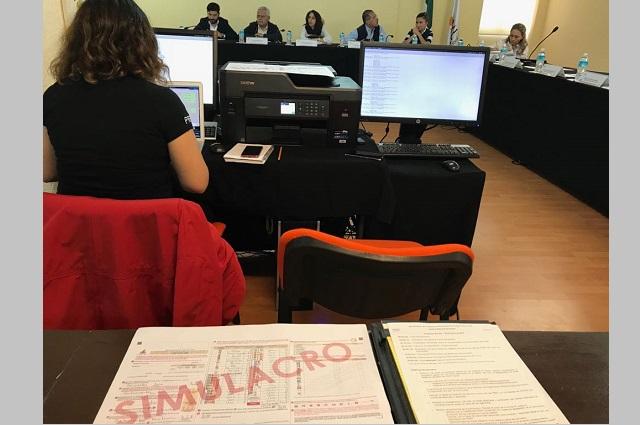 IEE avala proceso para difusión de resultados electorales preliminares