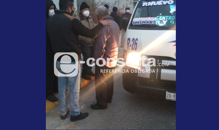 Con un arma asaltan a chofer de la Ruta 61 A en Puebla (video)