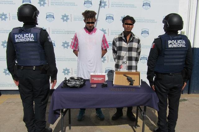 Detienen a asaltantes de transeúntes en Infonavit San Jorge