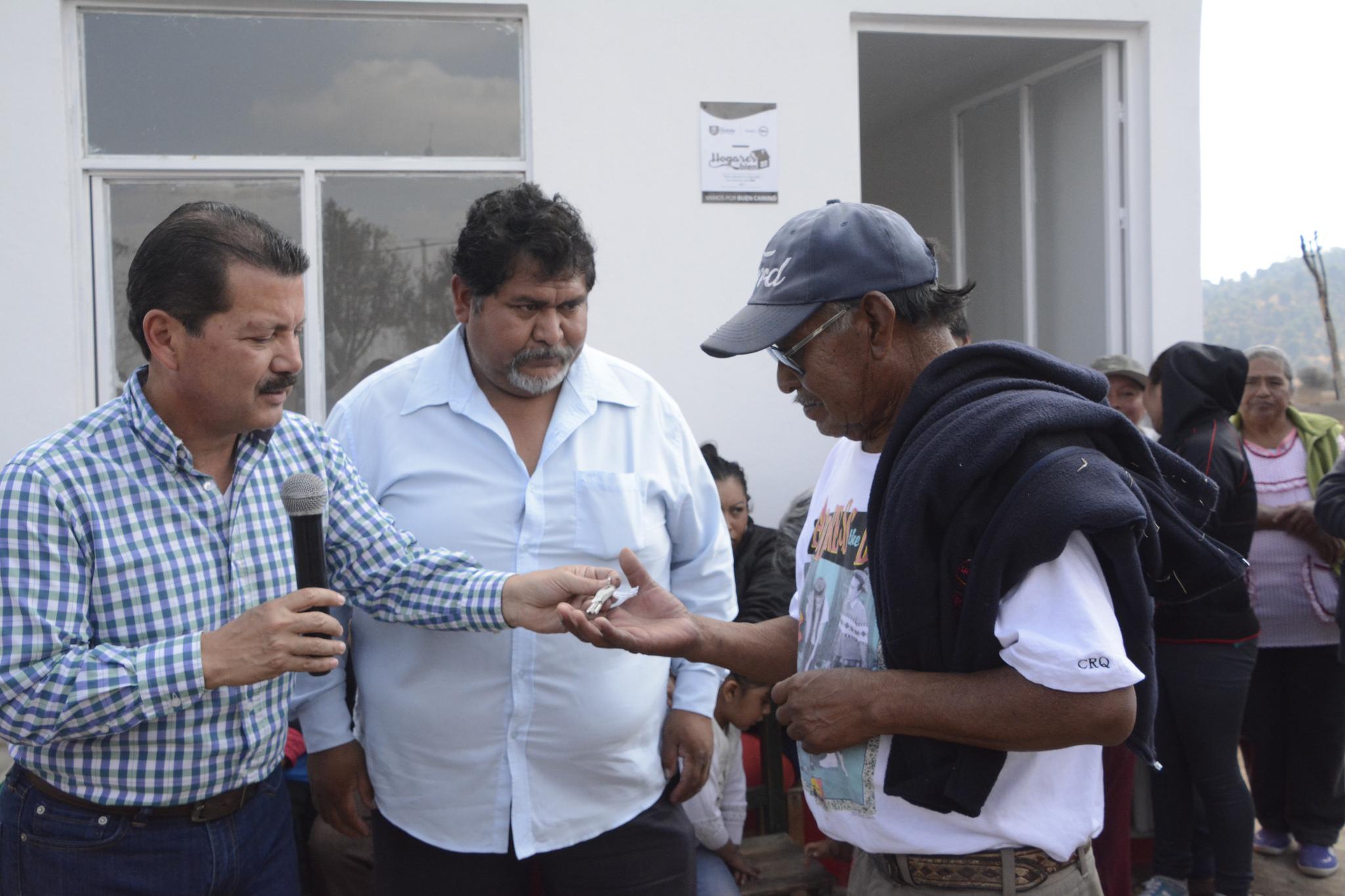 Reduce gobierno de San Pedro Cholula hacinamiento en hogares