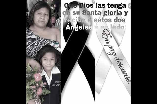 Los cuerpos hallados en Chietla son de madre e hija