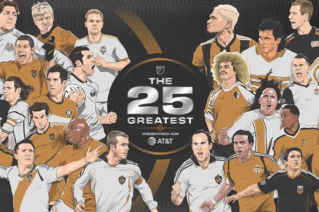 MLS presenta a sus '25 más grandes'; no incluyeron mexicanos