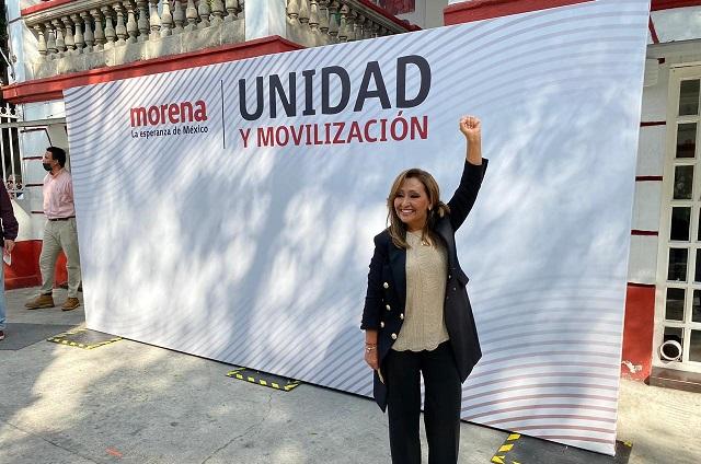 Lorena Cuéllar es la candidata de Morena al gobierno de Tlaxcala