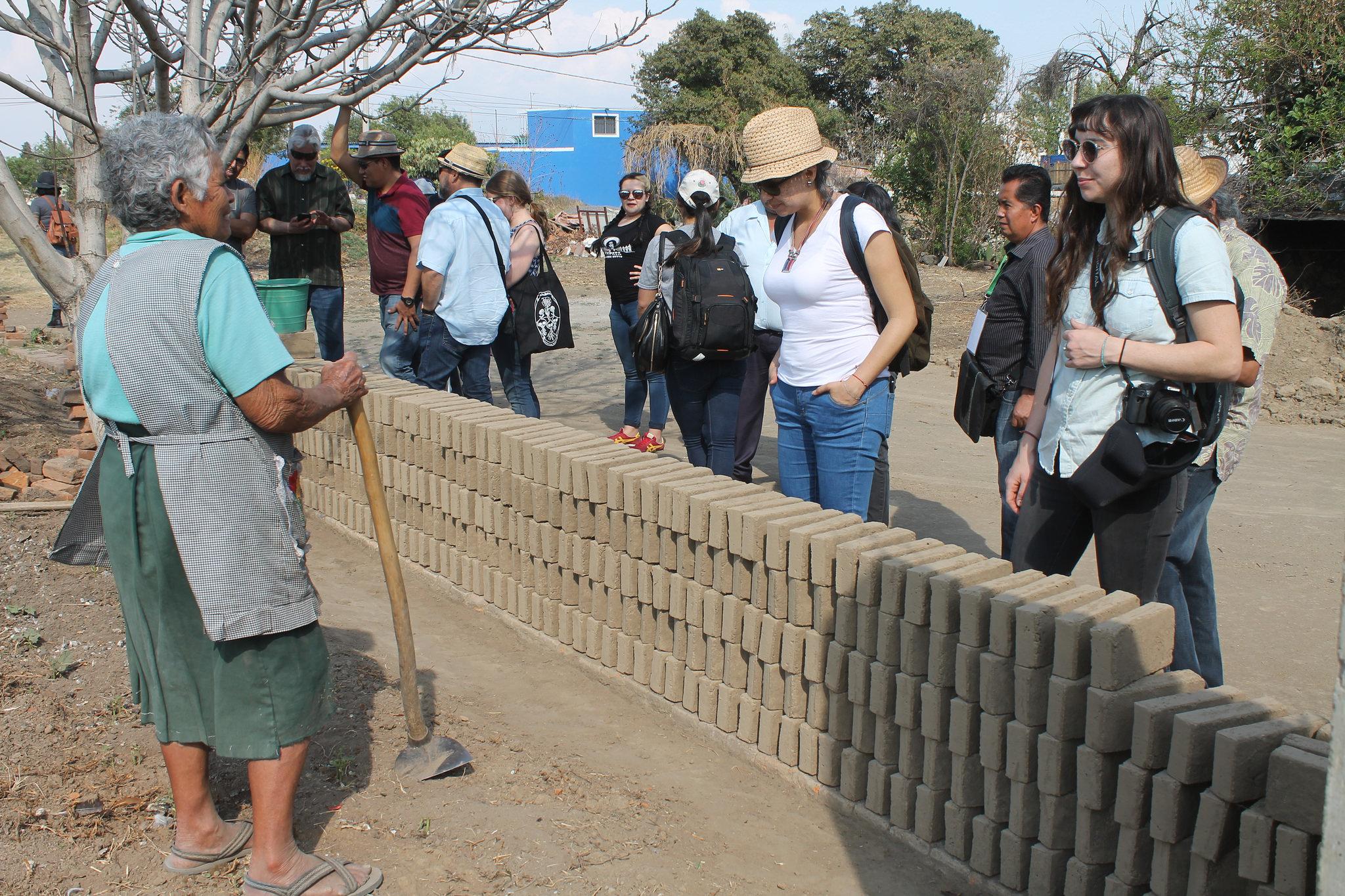 San Pedro Cholula recibe a comitiva de la Universidad de Nuevo México (UNM) de Estados Unidos
