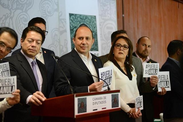 Cabilderos PAN busca presionar a magistrados del TEPJF: Manzanilla