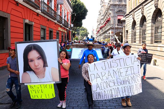 Exige UPVA justicia en caso Meztli tras órdenes de aprehensión