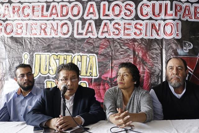 Rechaza la 28 de Octubre crimen de Meztli por ajuste de cuentas