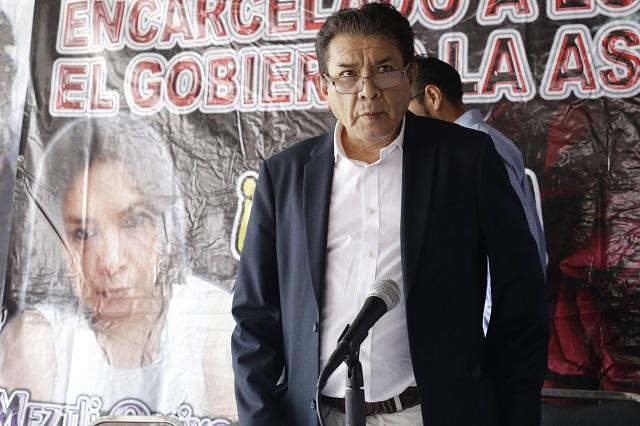 Denuncia la 28 de Octubre trampa para su dirigente Simitrio y su hijo
