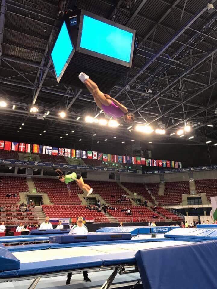Ayelen Segundo,  gimnasta poblana que lucha sola por sus sueños