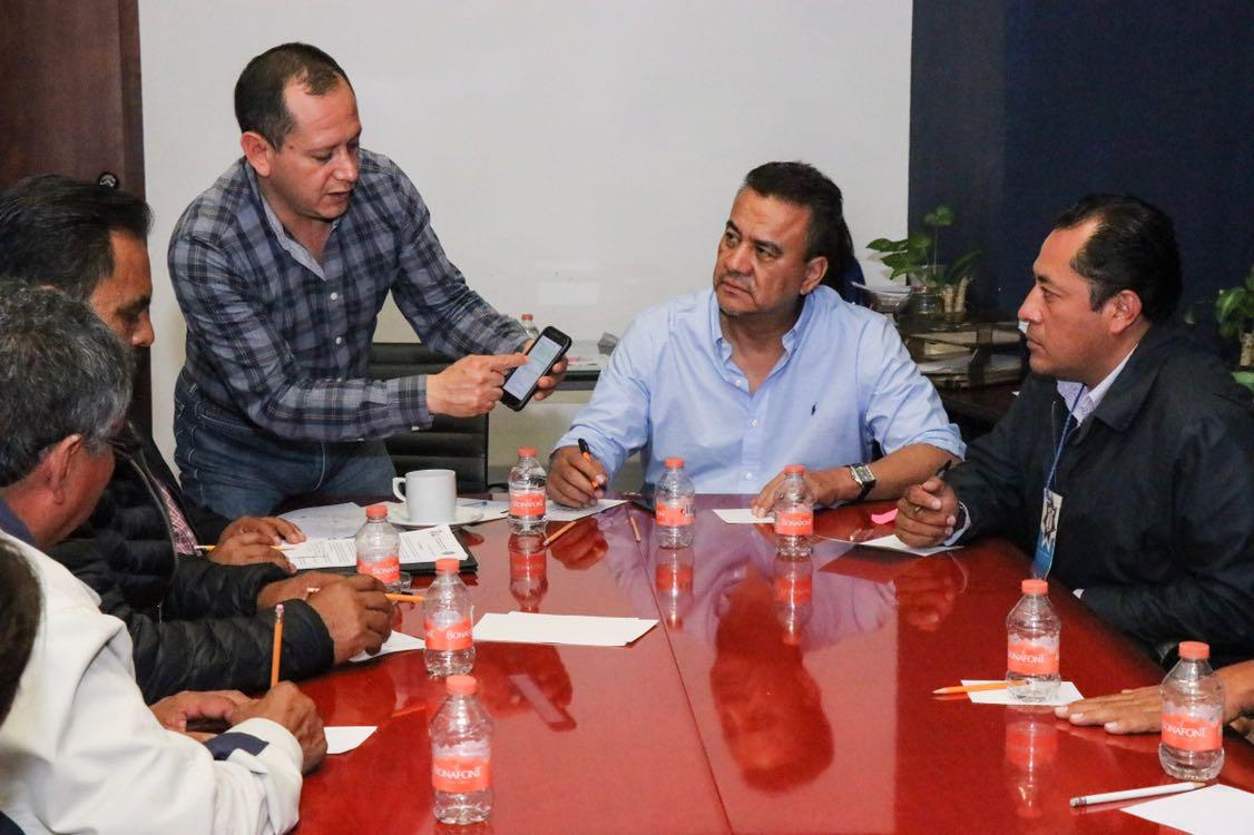Planean estrategias de seguridad para Tecali de Herrera