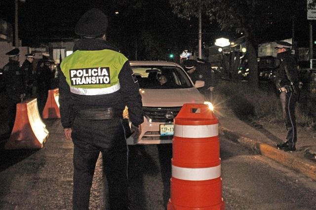 Alcoholímetro remite a 14 autos al depósito vehicular