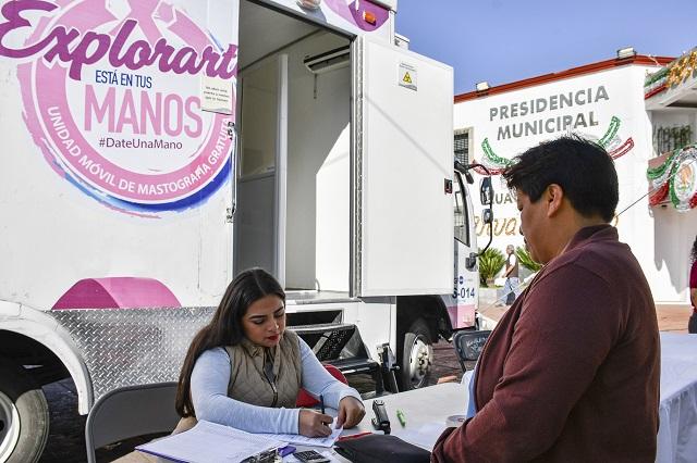 Invita Lupita Daniel a conferencia sobre prevención de cáncer de mama