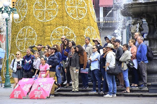Aumentó turismo en Puebla en gobierno de Barbosa: Datatur