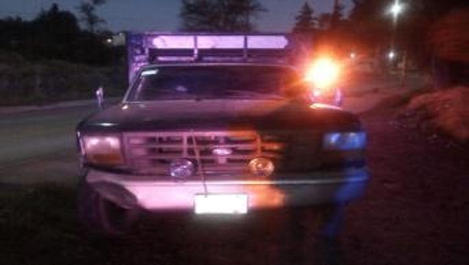 SSP aseguró más de 600 litros  de combustible y dos camionetas