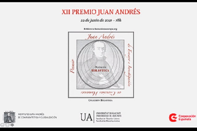 España galardona trabajo literario de académico de la IBERO Puebla