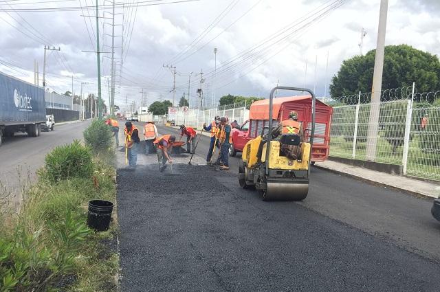 Bachea gobierno estatal la autopista México-Puebla