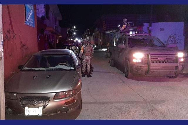 Recuperan auto robado en San Pedro Cholula