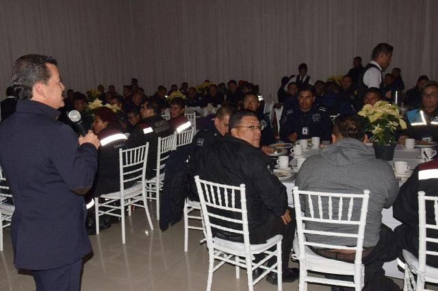 Policías de San Pedro Cholula tendrán seguridad social