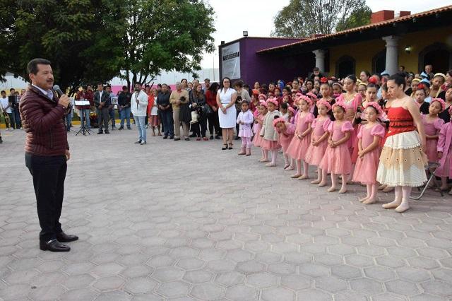 Inauguran en San Pedro Cholula Parque de la Familia cholulteca