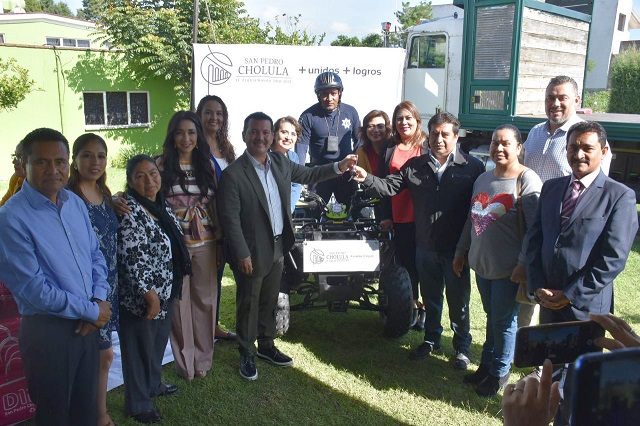 Mantiene Arriaga compromiso de regresar hospital a San Pedro Cholula