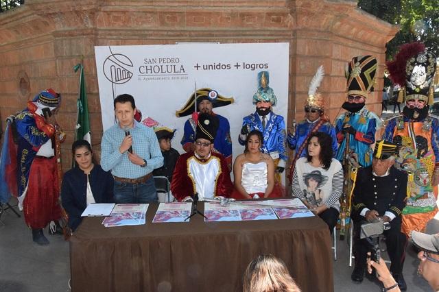 Prevé gobierno de San Pedro Cholula carnaval tranquilo