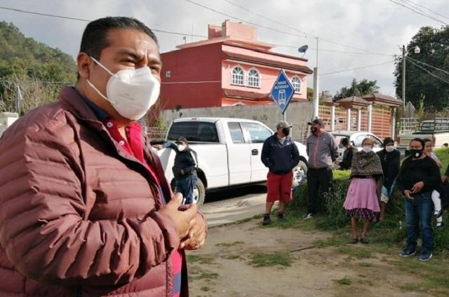 Candidato del PSI en Tlatlauquitepec demandado por desvío de recursos federales