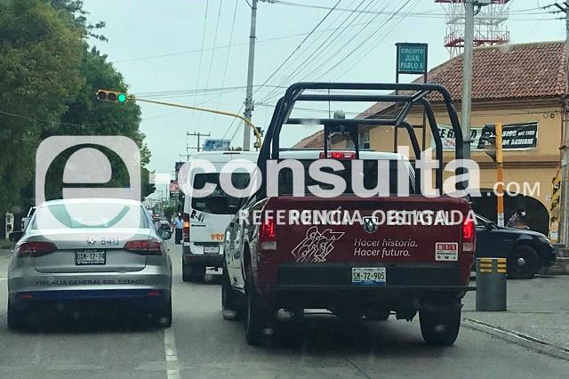 Le roban 150 mil pesos afuera del HSBC de Las Ánimas