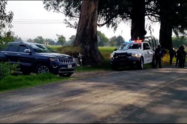 En rescate de secuestrados, hieren a 2 agentes en Tlahuapan
