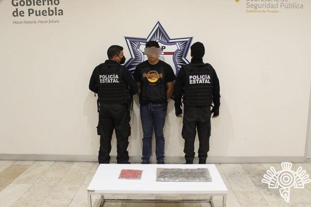 Caen tres narcomenudistas en diversos puntos de Puebla