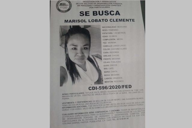 Hallan muerta a Marisol tras 7 días desaparecida en Puebla