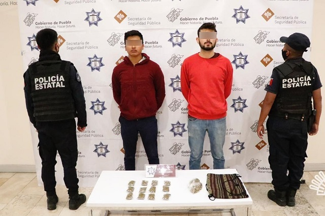 Detienen a nueve delincuentes en Altepexi y Puebla