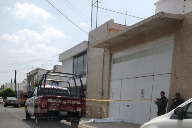 Muere en calles de Prados Agua Azul