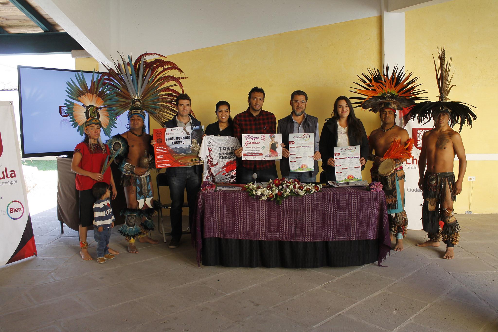 Presentan temporada cultural Que Chula Cholula 2017