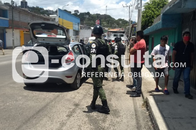 Persecución y balacera contra robacoches termina en Clavijero