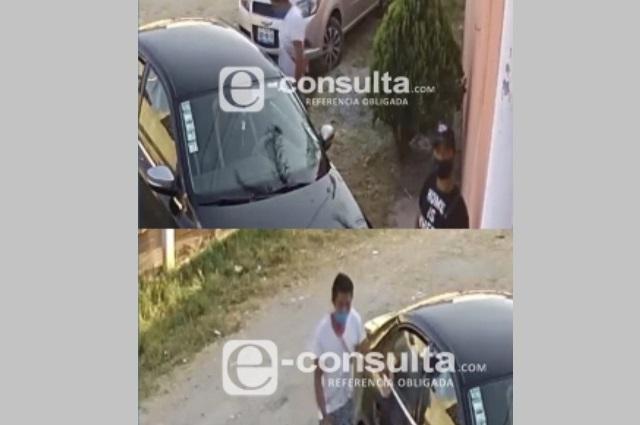 Intentan robar auto en El Salvador pero vecinos lo impiden