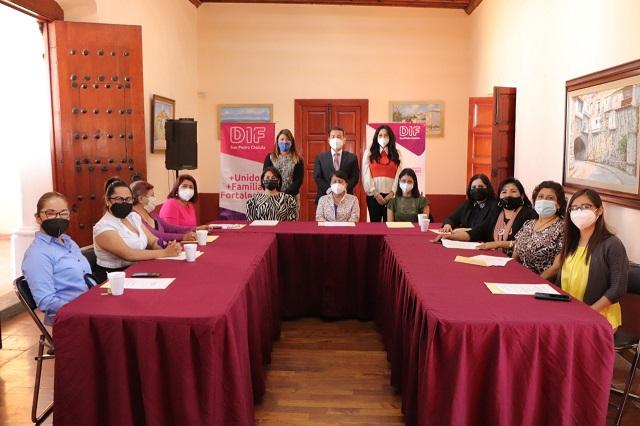 San Pedro Cholula tiene ya Consejo Municipal de Mujeres