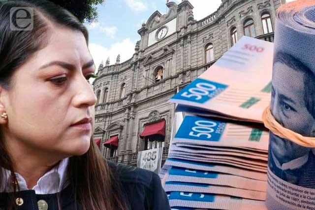 Gobierno de Claudia Rivera deja 677 mdp en las arcas