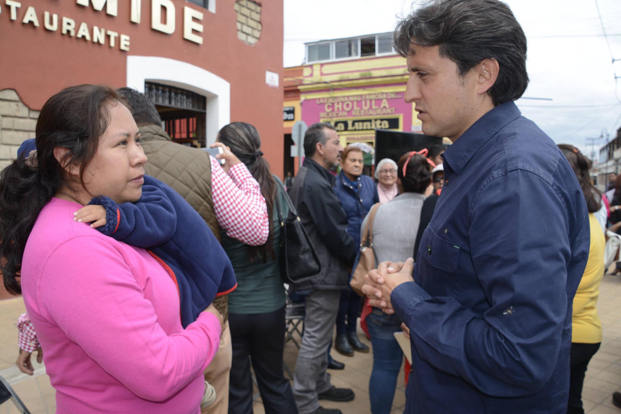 Reubicarán la primaria Lázaro Cárdenas de San Pedro Cholula