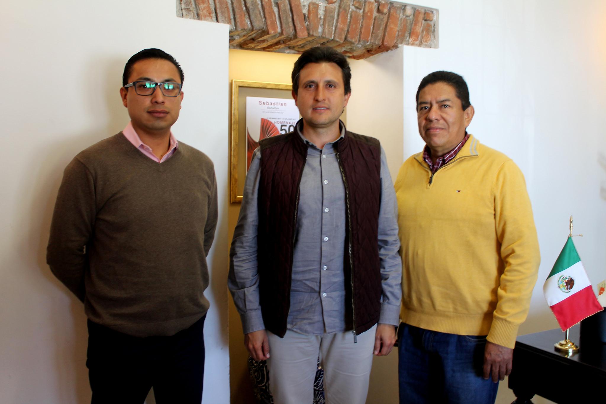 Realiza edil de San Pedro Cholula cambios en su administración