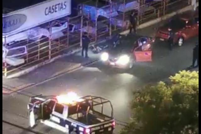 Caen 4 tras persecución y balacera de Atlixco a Puebla