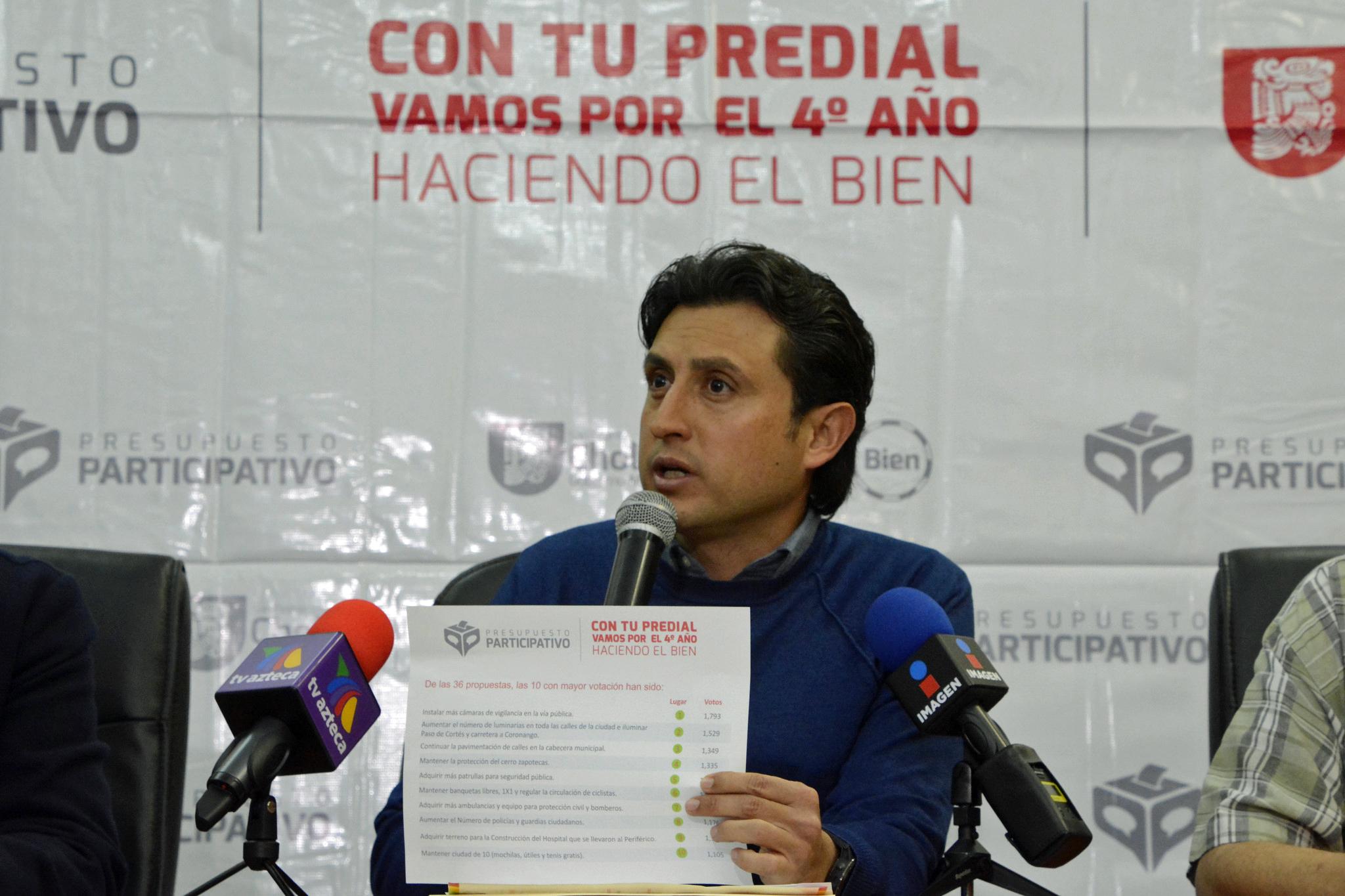 Definan en San Pedro Cholula 10 obras prioritarias para 2018