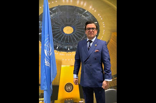 Participa Gerardo Islas en reunión de trabajo en la sede de la ONU