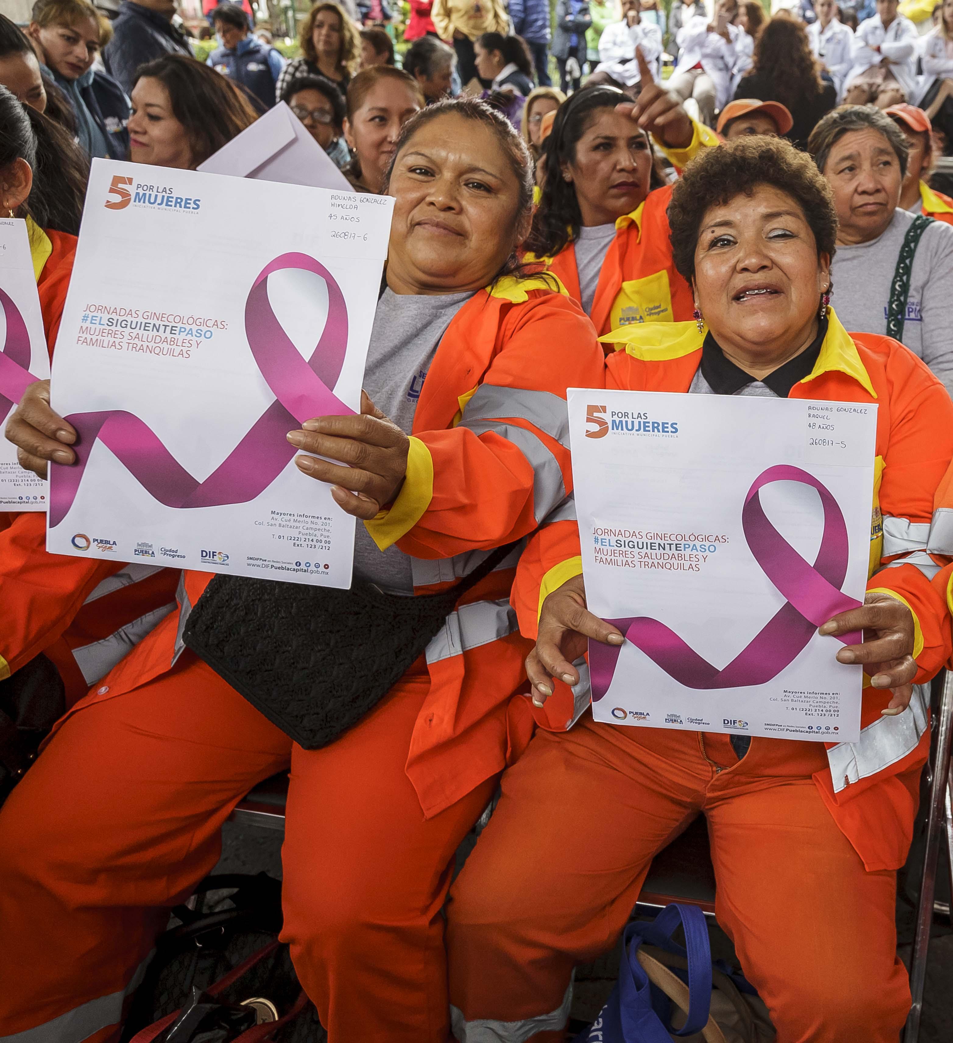 Harán mastografías gratuitas en la ciudad de Puebla