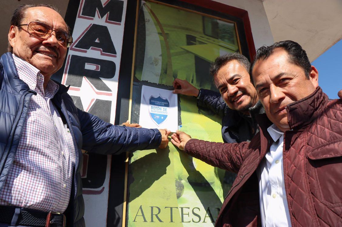 Piden a comerciantes de Tecali blindarse ante la delincuencia