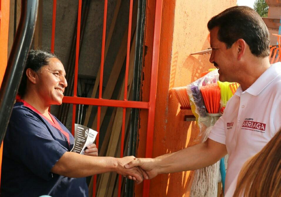 Anuncia Luis Alberto Arriaga creación de guarderías gratuitas