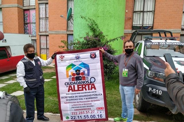 Invita Cuautlancingo a formar parte del Programa Ciudadanos En Alerta