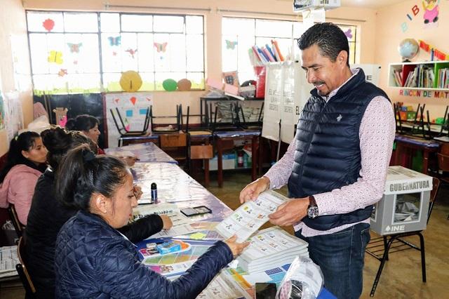 Edil de Tlatlauquitepec reprocha baja votación y condiciona obra